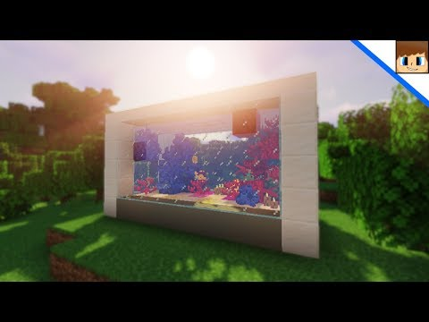 How To Build A Fish Tank In Minecraft