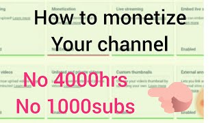 How to monetize your channel on your phone
