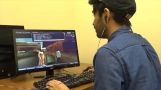 Demonstration of virtual language training program