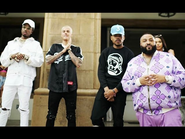 Dj Khaled Justin Bieber Migos Chance The Rapper Music Video Behind The Scenes