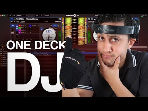 DJ TIPs: How to DJ with only one Deck | DJ Tutorial