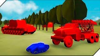 УПРАВЛЯЕМ маленьким ДРОНОМ -  Игра Total Tank Simulator Demo 4  Экшен танки