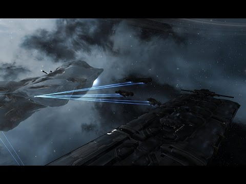 EVE online Orca vs Mining Barges