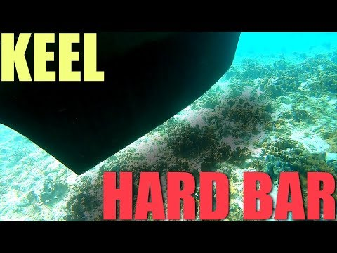 Crossing The Dangerous SHALLOW REEF BAR At Devil's Cay | Sailboat Story 111