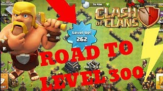 Clash of Clans Pushing to level 300 | Lets play clash of clans | Req n Leave | Req N GTFO