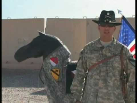 5dfbe43cdf873 1st Cavalry Spurs tradition continues in Iraq - YouTube
