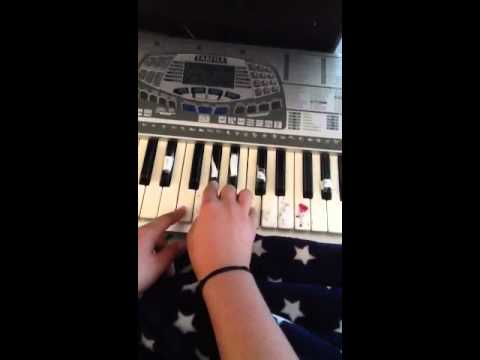 How to play impossible by shontelle piano toturial
