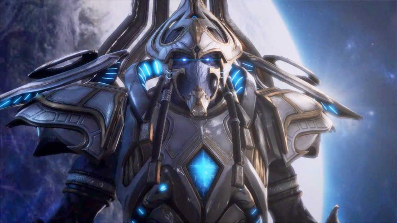 artanis begins protoss invasion on aiur starcraft 2