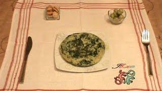 Tortilla De Acelgas / Swiss Chard Omelet