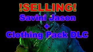 Friday the 13th: The Game   Savini Jason + Clothing Pack, Relisted PC (Selling)