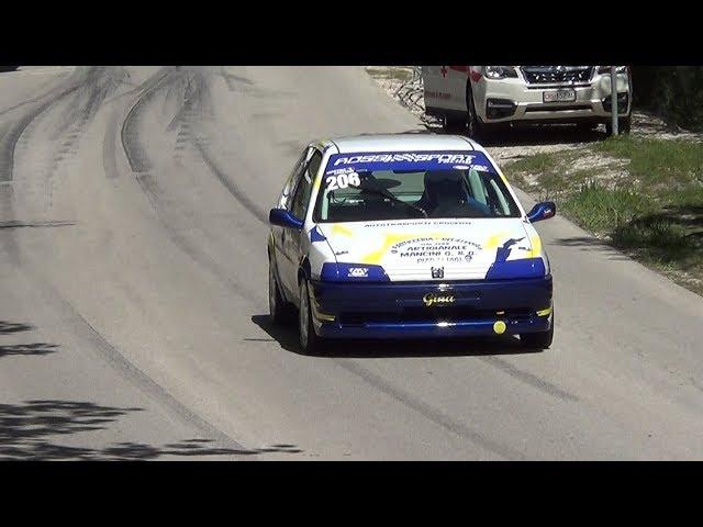 trofeo scarfiotti sarnano sassotetto 2019 massimiliano angelucci peugeot 106 rally movie