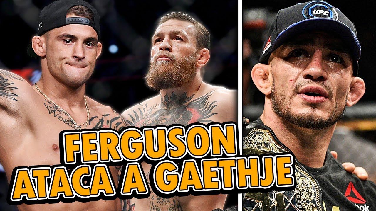 Tony Ferguson EXIGE REVANCHA a Justin Gaethje, Conor McGregor RESPONDE a Dustin Poirier, Adesanya