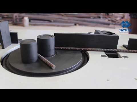 Stirrup Bending Machine Jaypee® | Automatic Rebar Stirrup Bending Machine | Machine Manufacturers