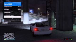 GTA Online: Locking // Kicking Other Players From Your Car (PERSONAL VEHICLES)