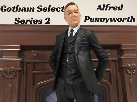Unboxing Diamond Select Toys Gotham Select: Alfred Pennyworth figure