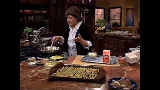 Mary Ann Esposito Cooking With Prosciutto Di Parma