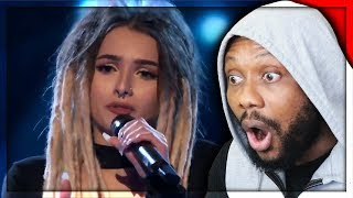 Zhavia: She's Only 16 But Wait What Happens When She Opens Her Mouth | S1E1 | The Four | REACTION!!!