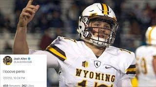 Josh Allen's OFFENSIVE Tweets Surface HOURS Before NFL Draft