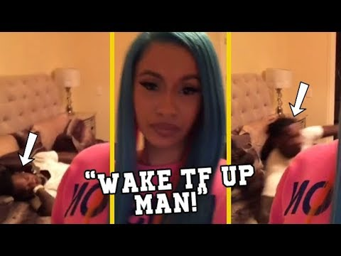 Cardi B Tired Of Offset Always Falling Asleep On Her!