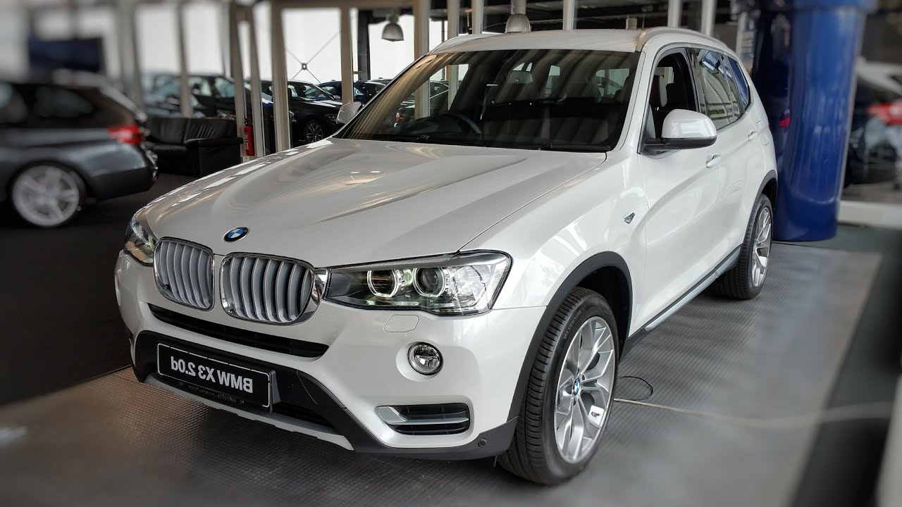 2015 BMW X3 XDrive20d XLine Interior Exterior In Depth