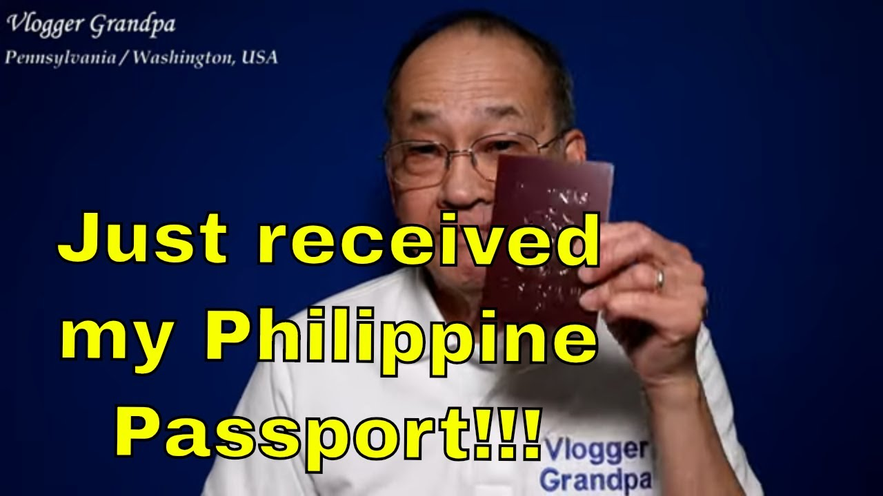 Photo of My Philippine Passport finally arrived!  [I'm free as soon as COVID-19 is resolved…]