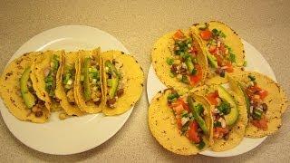 Homemade vegan corn tortilla  shells. Bean and rice tacos, plus no salt Fritos