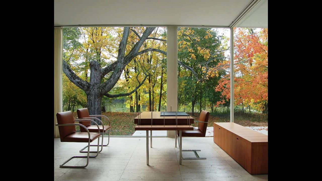 The Farnsworth House Media Loop At The Philip Johnson Glass House