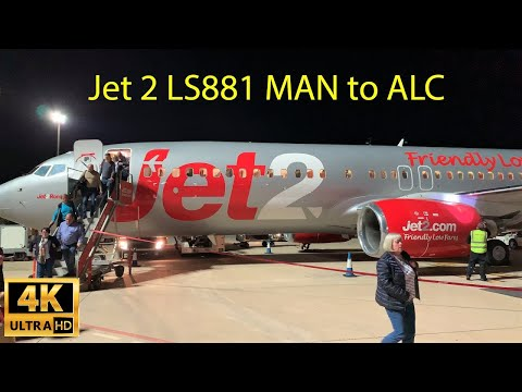Trip Report| Jet2  Boeing 737 LS881 Manchester MAN To Alicante ALC, April 28th, 2019
