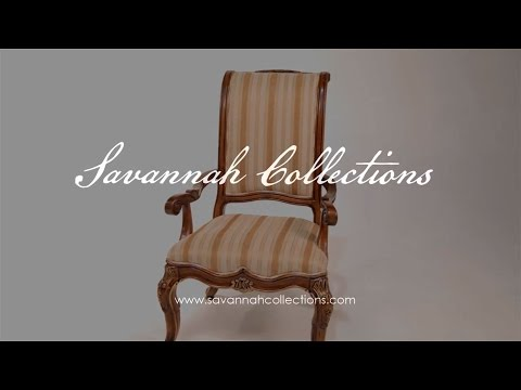Luxury furniture Dining Chair by Savannah Collections Thomasville
