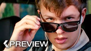 BABY DRIVER - First 6 Minutes Movie Preview (2017)
