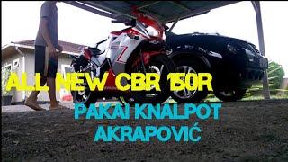 CBR 150R K45 knalpot akrapovic