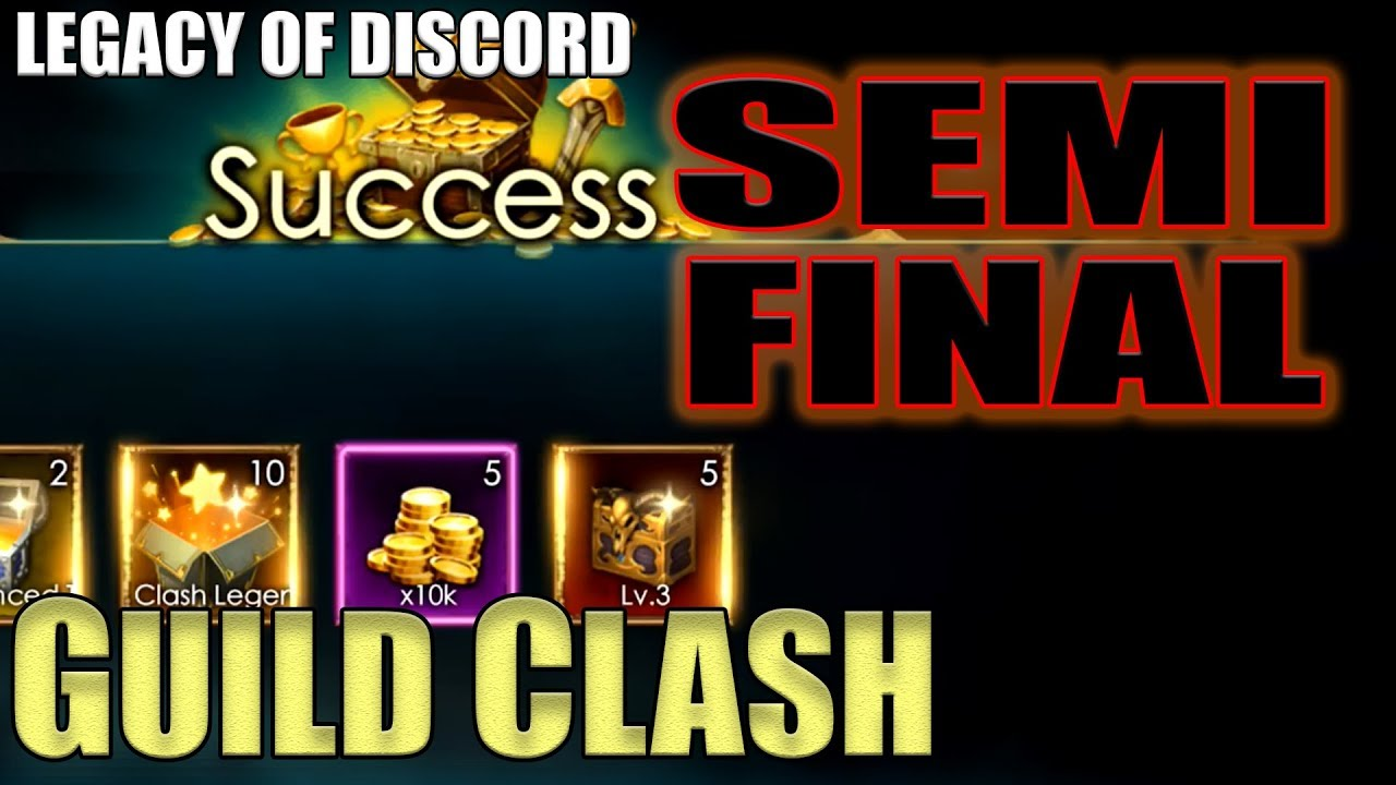 Legacy of Discord: Anarchy Guild Clash Semifinal | August 2018