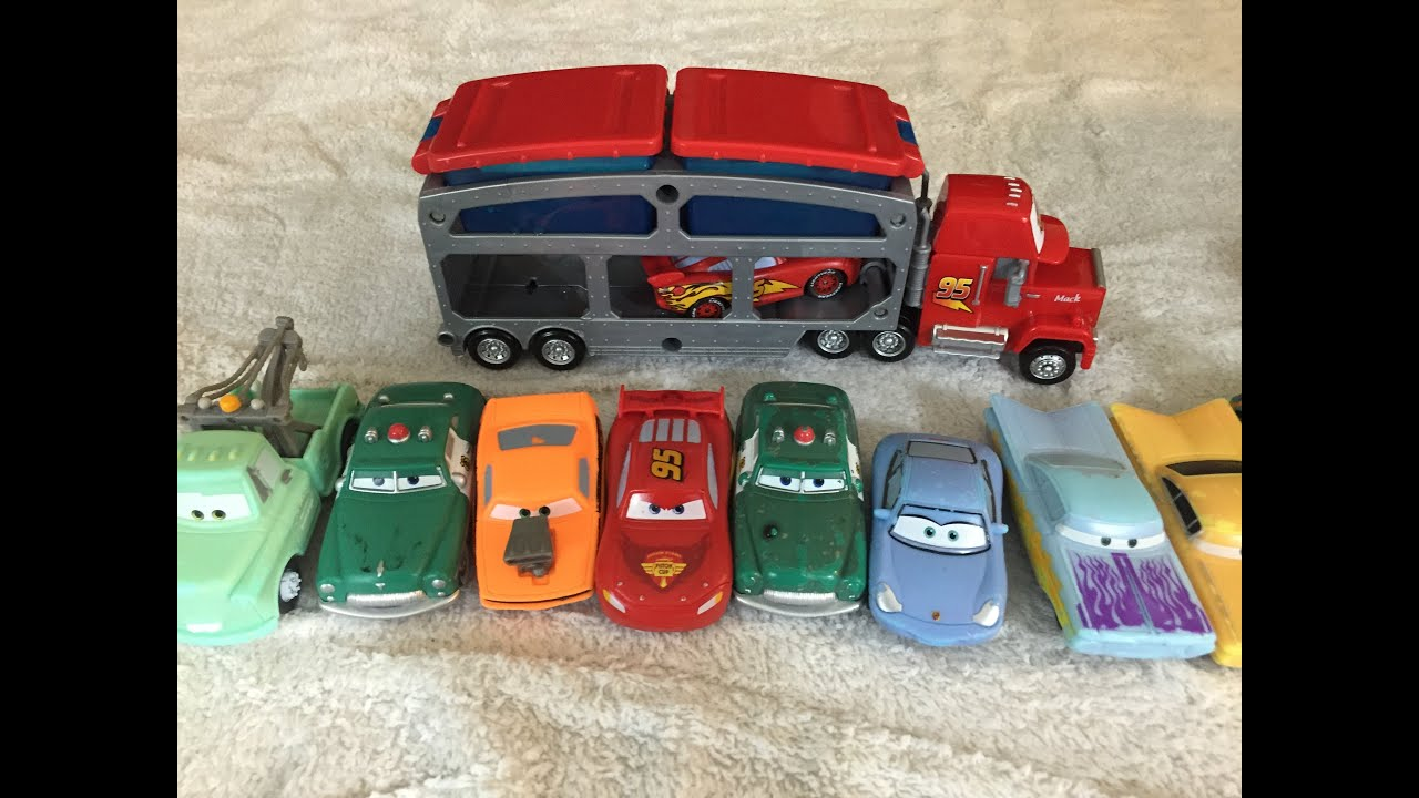 Toy Cars Toys R Us Color Changing Cars Lightning Mcqueen Mack Dip Color