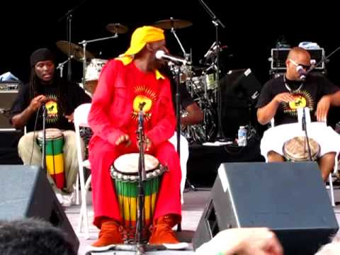 Jimmy Cliff Singing Rivers of Babylon Melody. Central Park Summer Stage
