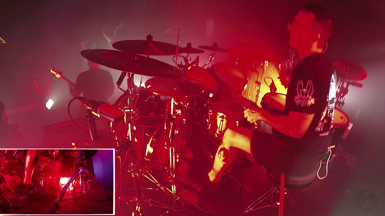THY ART IS MURDER@Reign Of Darkness-Jesse Beahler-Live in Czech Republic 2020 (Drum Cam)