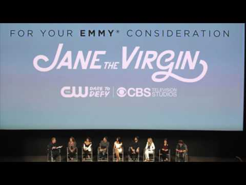 'Jane the Virgin' 2017 Emmys FYC event with Gina Rodriguez and cast