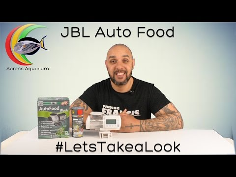 JBL Auto Food | Feed Fish What They Need, Not What They Want. #LetsTakeaLook