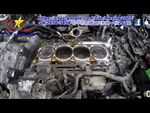 How To Change Head Gasket Removal On MITSUBISHI OUTLANDER 2.4L 2008~ 4B12 W1CJA Part 1