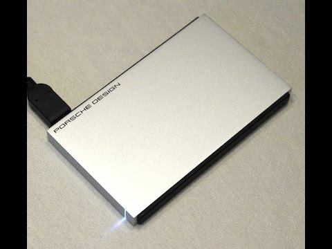 LaCie 1TB Porsche Design External Hard Drive P'9223 For Mac - 2014