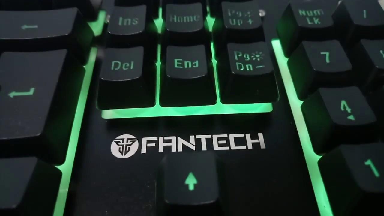 9e21f3cd881 Cheapest RGB keyboard - Membrane Gaming keyboard, Mechanical Feel - Fantech  K612 Soldier