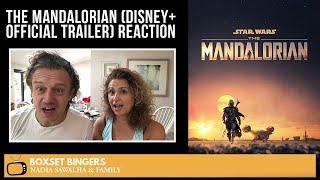 The Mandalorian (Disney+ Official TRAILER) Nadia Sawalha & The Boxset Bingers REACTION