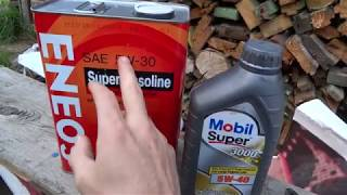 Как выбрать масло.  Оилклуб или БМВ сервис.  Тест-прожарка Mobil super 3000.