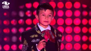 Daniel cantó 'Ni por mil puñados de oro' de Jesús Sil...