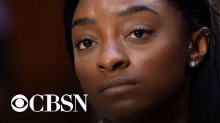U.S. gymnastics stars testify on Capitol Hill about Larry Nassar abuse