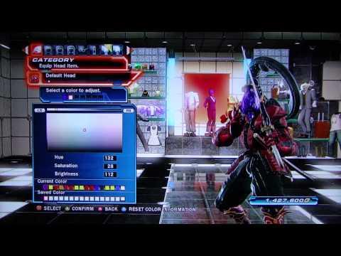 Tekken Tag Tournament 2 - Yoshimitsu Character Customization