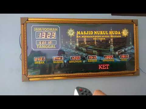 cara-mensetting-timer-jam-digital-masjid-tipe-2