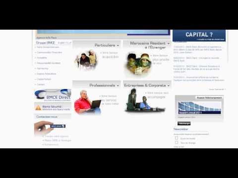 BMCE Bank crédit au Maroc www.bmcebank.ma