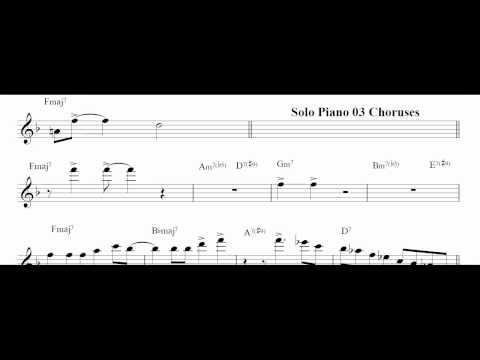 """Dexter Gordon """"Fried Bananas"""" Jazz Transcriptions"""