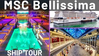 MSC Bellissima Cruise Ship Tour & Review w/ Cruise Fever