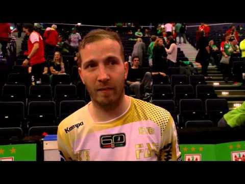 Interview mit Robert Weber nach dem Einzug ins Pokalfinale